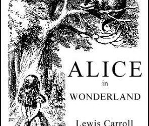 Alicia en el país de las maravillas y el gato de Cheshire